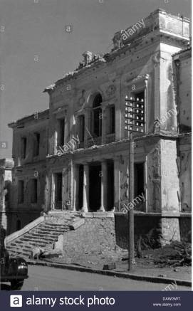 events-second-world-war-wwii-greece-balkans-campaign-1941-house-at-DAWGWT