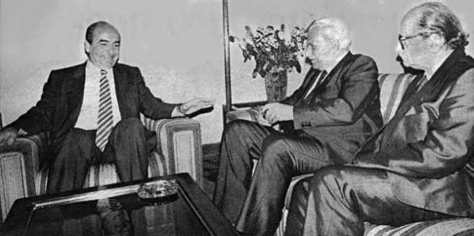 Konstantinos-Mitsotakis-Xarilaos-Florakis-Leonidas-Kyrkos